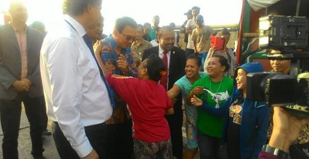 Tempat Tinggal penduduk di Waduk Pluit bakal di Gusur oleh Ahok