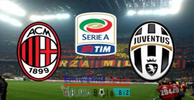 Bursa-Bola-AC Milan vs Juventus-10-April-2016