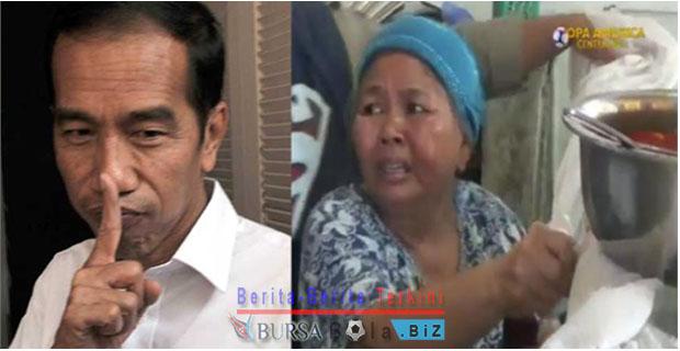 Uang 10 Juta Diberikan Oleh Orang Suruhan Jokowi Untuk Ibu Erni