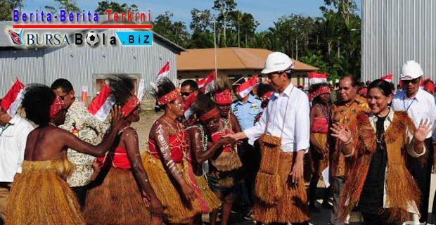 Presiden Jokowi Targetkan Rakyat Papua Rasakan Pemerataan Harga BBM dan Sembako Yang Berimbang