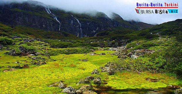 Nikmati Indahnya Lembah Barun di Nepal Berselimutkan Hutan Hijau dan Bunga Berwarna Warni