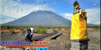 Abu Letusan Gunung Agung Bisa Sampai Ke Pulau Jawa