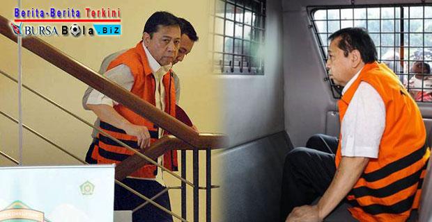 Ditahan KPK, Setya Novanto Kirimkan Surat Sakti Kepada Fraksi Golkar
