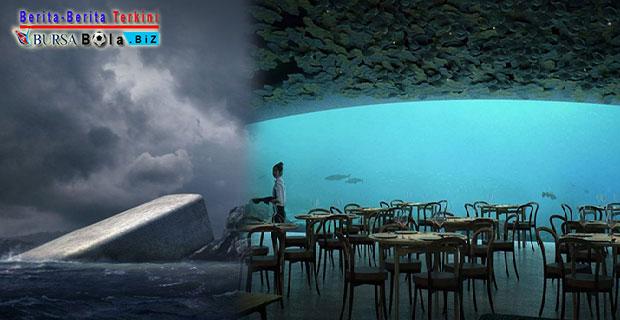 Hasilkan Karya Seni Arsitektur Indah, Norwegia Akan Bangun Restoran Bawah Air Pertama di Eropa