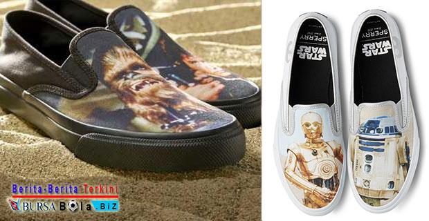 Sperry Band Luncurkan Koleksi Sepatu Limited Edition Tema Star Wars di Akhir Tahun 2017