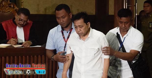 KPK Sindir Setnov Untuk Tidak Menghindari Proses Hukum Dengan Memainkan Drama