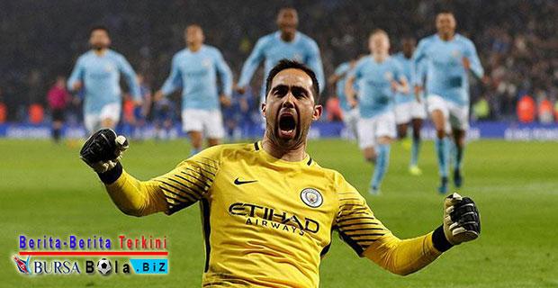 Luar Biasa! Drama Adu Penalti, Tendangan Leicester Ditepis Kiper Manchester City
