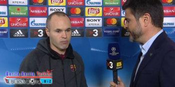 Kekalahan Barcelona di Liga Champions, Benarkah Menjadi Laga Akhir Iniesta?