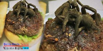 Menu Utama Tarantula di Topping Burger, Berani Coba?