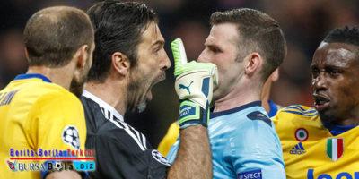 Sanksi Berat UEFA Nodai Perjalanan Karier Buffon di Juventus