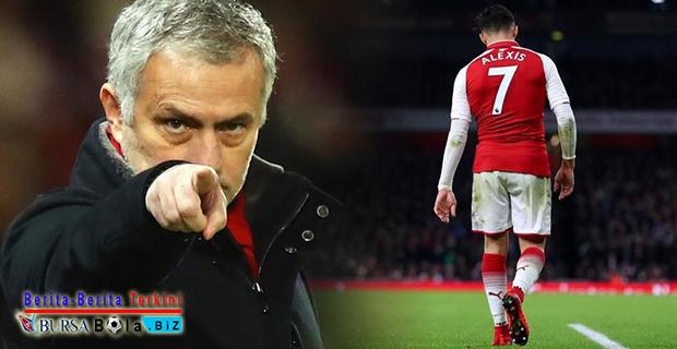 Sanchez Bakal Hengkang Dari MU, Mourinho Buka Suara