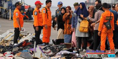 Temukan Potongan Tubuh Manusia, Basarnas Perpanjang 3 Hari Masa Pencarian Korban Lion Air
