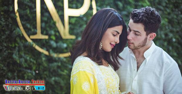 Selamat! Nick Jonas Resmi Nikahi Priyanka Chopra